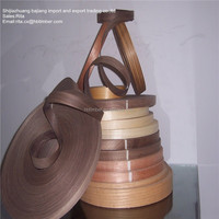 Factory Directly Sale PVC Edge Banding in 19mm And 0.3mm Thick Wenge Color PVC Edge Banding