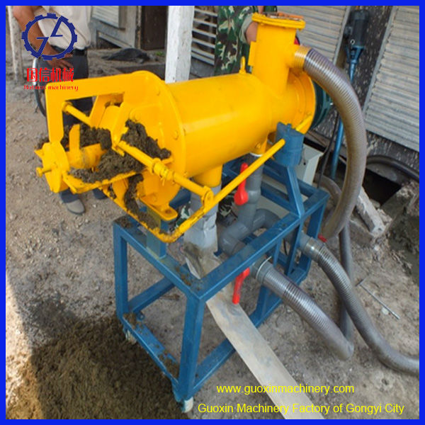full automatic long stable working sludge dewatering machine