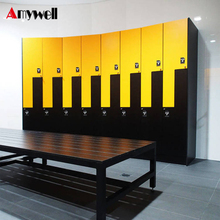 Amywell 10 years warranty waterproof Swimming Pool HPL Locker for changing room