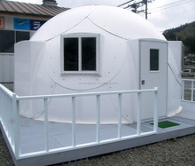 """High quality well designed 2 bedroom bamboo prefabricated house """