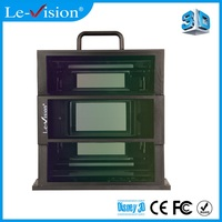 Triple Optical Cycle use Light Weight Polarized 3D Glasses Spectacles Cinema 3D Equipment for 3D 4D 5D 7D 9D Theater System