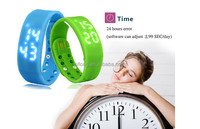 Silicone Soft Sport Waterproof Wrist Watch Mobile Phone