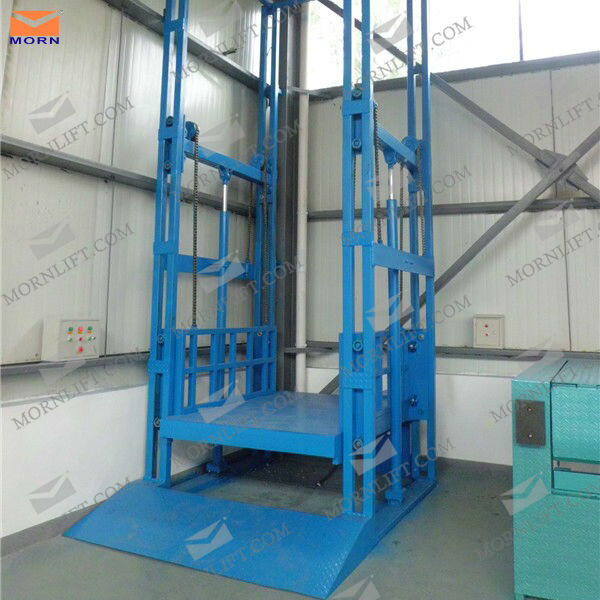 Hydraulic Vertical Lift : Ce approved hydraulic vertical warehouse cargo lift for