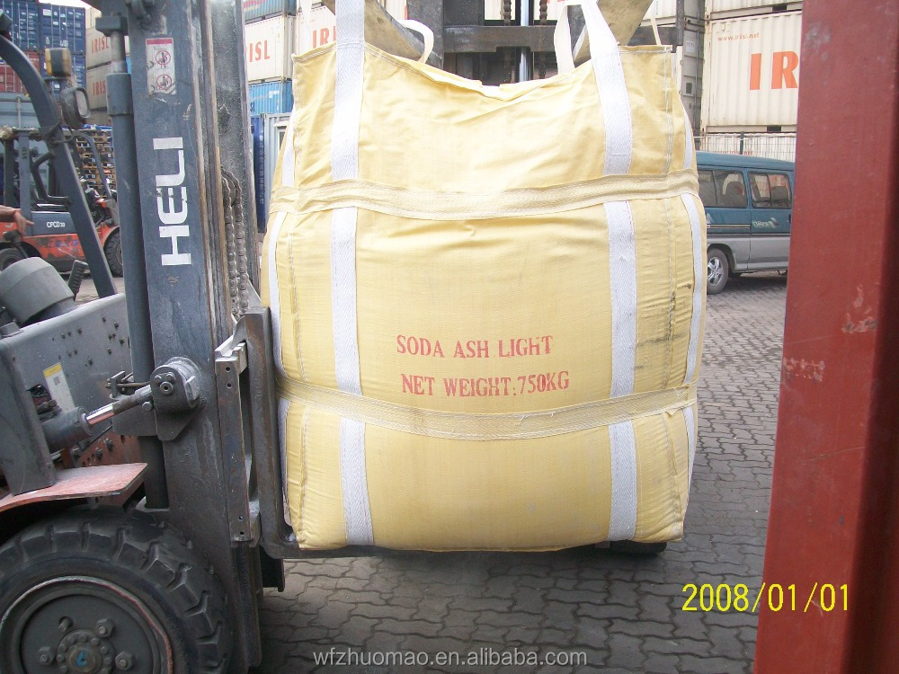 Manufacturing soda ash Na2CO3/sodium carbonate light powder/99.2% min/soda ash/