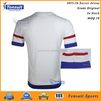 Customized new design wholesale classic football shirt for hot football team soccer training suits