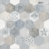 Zibo hot special tile in 24x24, ceramic floor tile, special hexagon tile