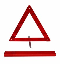Car emergency kit traffic reflective road safety warning triangle