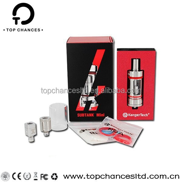 Alibaba China mini subtank clearomizer 22mm Kanger Mini Subtank with 4.5 mL