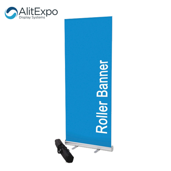 High quality aluminum out door roll up banners rollups for advertising