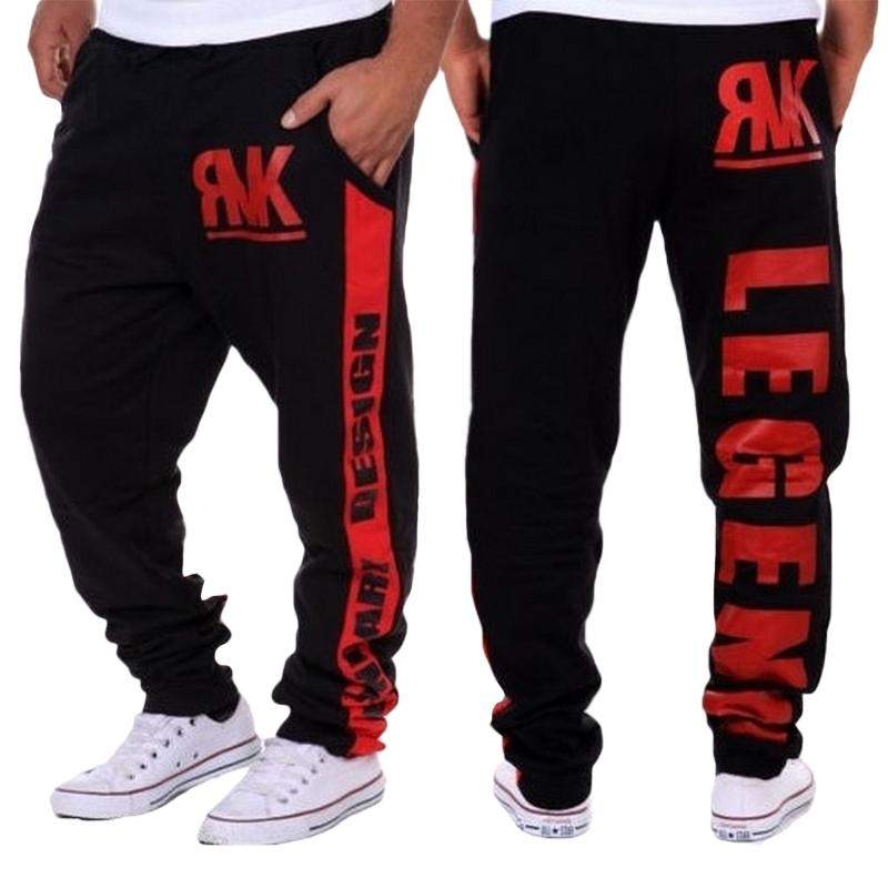 Hot High quality men's casual skinny sweatpants Jogger pants