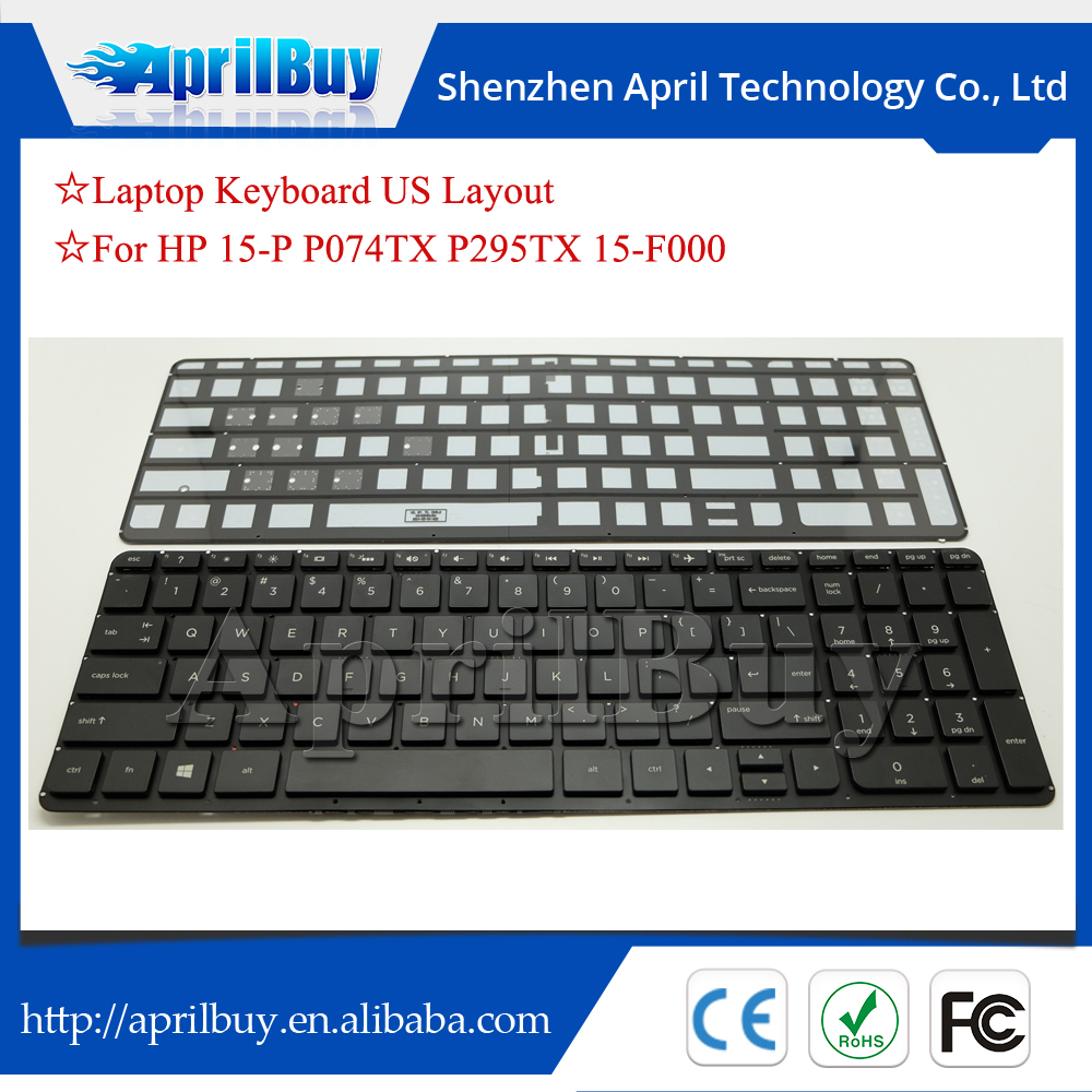 laptop backlit keyboard for hp 15-p p295tx p074tx 15-f000