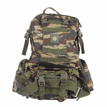 Hot Selling 50L Waterproof Multifunctional Tactical mountaineering bag,CZX-067 Hunting camouflage bag,backpack tactical