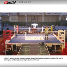 insternational standard competition boxing ring