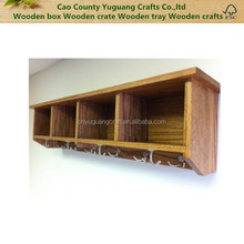 Coat hooks wood walls, Entryway Shelf with Cubbies, Coat Hooks Handmade Solid Wood Oak Coat Rack Entry Shelf Wall