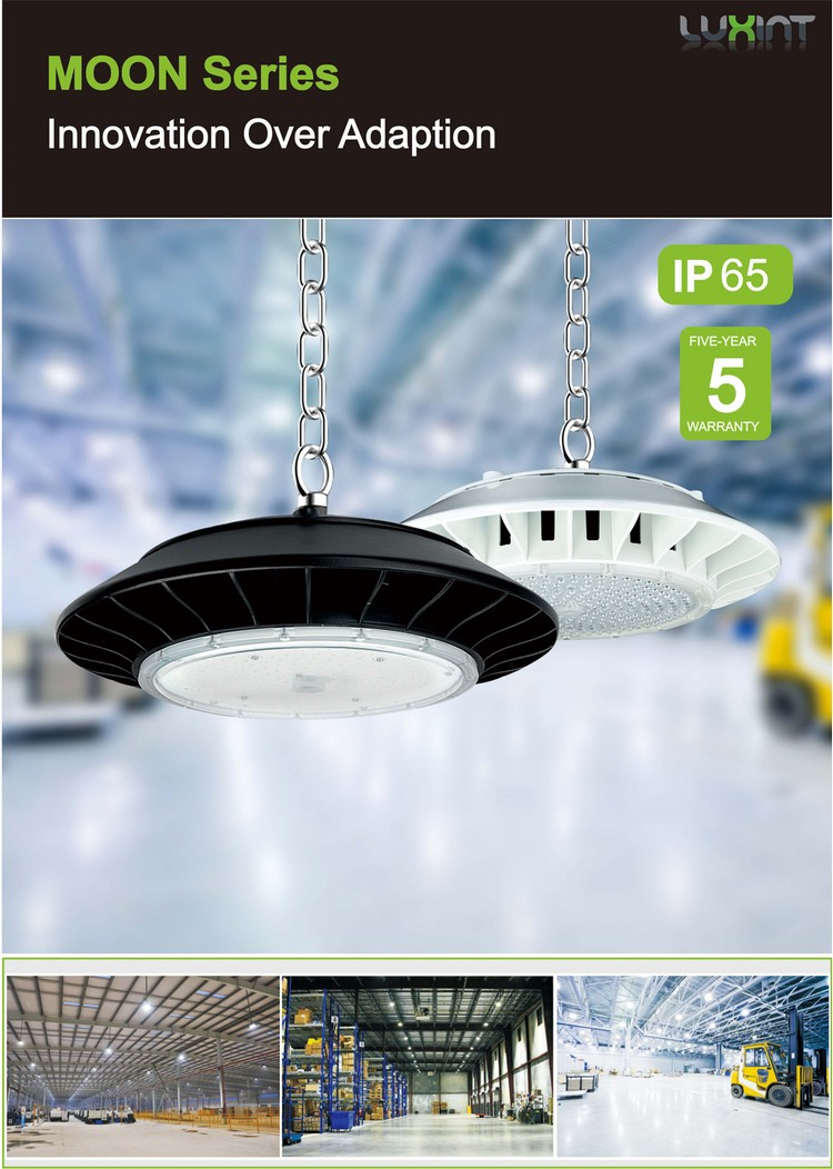 modern light fixture rose light led industrial led highbay light 150w with 5 years warranty