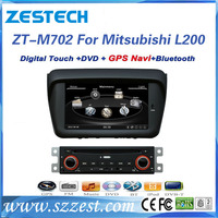 Professional for mitsubishi l200 with in dash multimedia dvd player
