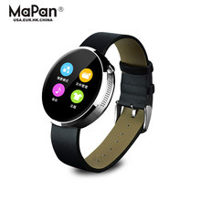 sleep monitor fashion bracelet leather watch,wearable device smart products for phone