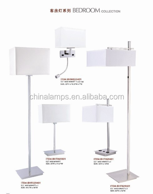 China Supplier Bedroom Furniture Hotel Supply Hotel Reading Lamp ...