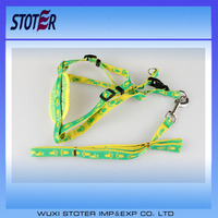 Colorful Nylon Dog Leash with Harness New Pet Product