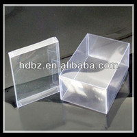 custom high quality transparent plastic tool box