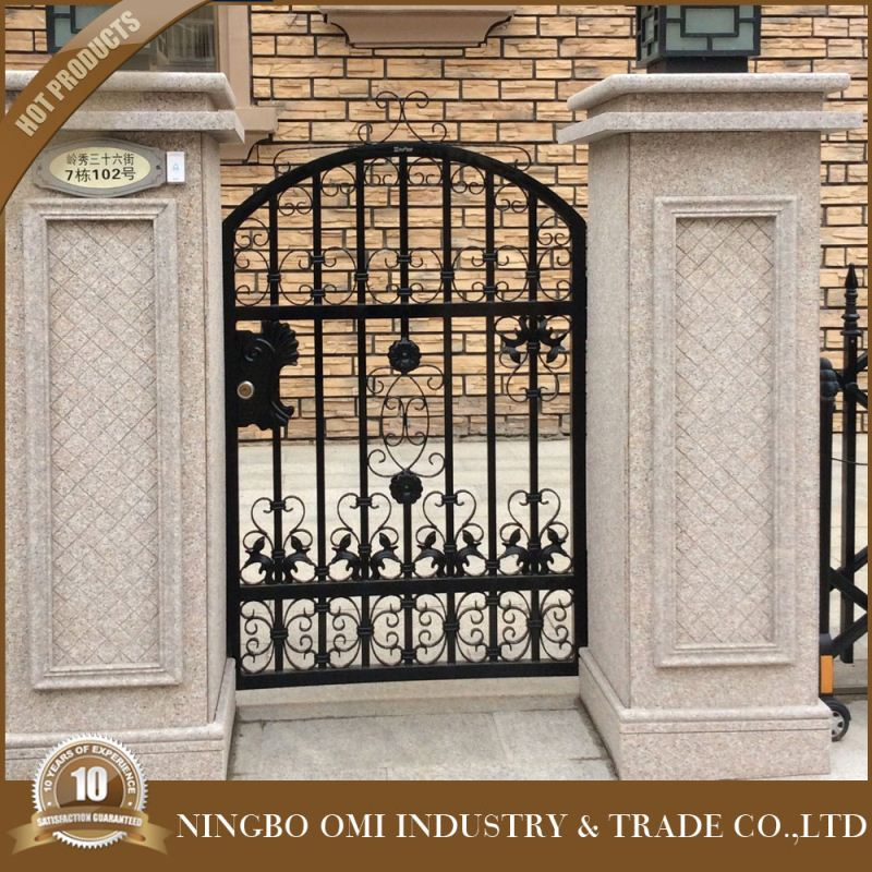luxury wrought iron house main gate designs/iron gates models/gate grill design