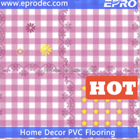 anti-Static floor covering rolls of vinyl sheet pvc floor for boat floor decor