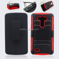 3 in 1 heavy duty kickstand hybrid combo case for HTC One Remix One mini2 M8 mini