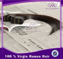 Provide oem service remy virgin cambodian machine weft human hair exte
