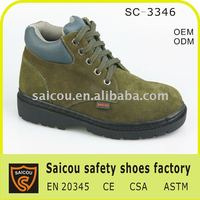 Ladies Steel Toe Safety Shoes Factory