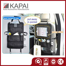 Fashionable Hanging Foldable Cars Organizer with iPad Pocket