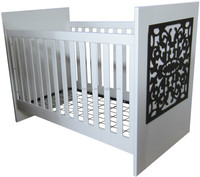 Cubby Plan LMBC-104 solid wooden high quality 3 in 1 baby cot american baby furniture baby crib