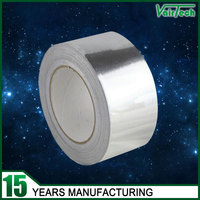 Fireproof aluminum self adhesive foil duct tape