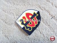 Fashion Embroidery Patch/Different Size, Color, Design, Materials Are Acceptable According To Customer Requirement.