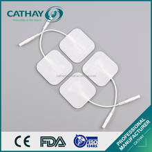 High quality swallow machine use tens snap white electrode pad