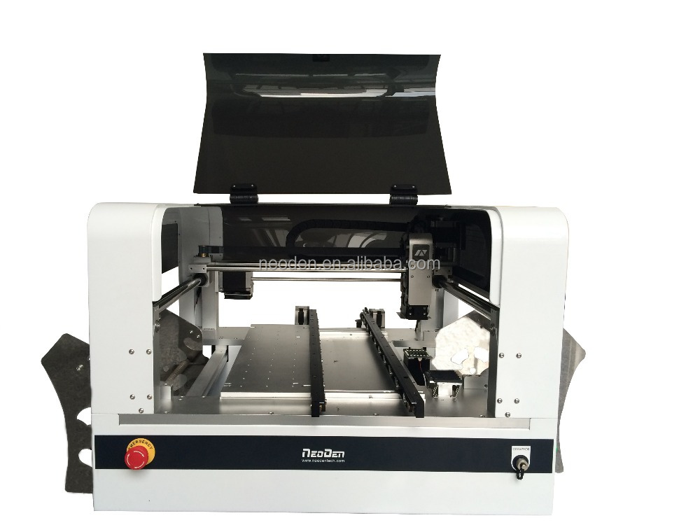 Automatic desktop pick and place machine-NeoDen4,SMT mounter,1200mm led making machine,LED smt line