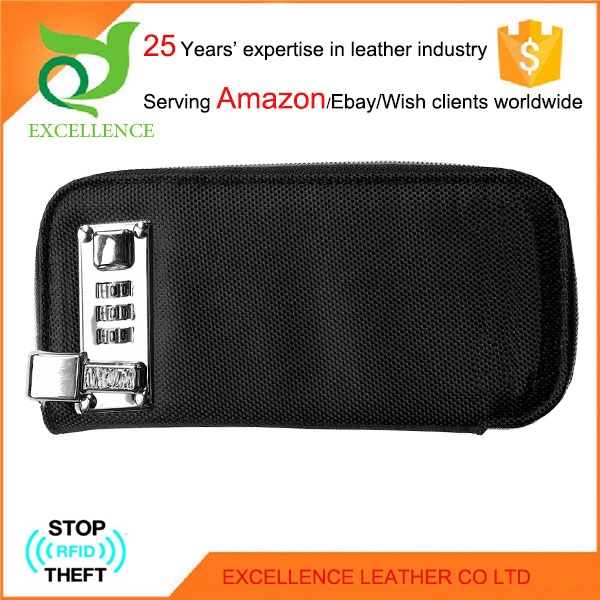 Safety combination lock wallet Rfid Wallet OEM/ODM Factory 25 Years' Experience