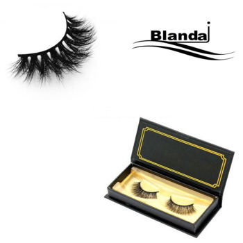 Hot Selling Models Factory Price 3D Silk Eyelashes With Custom Eyelash Box