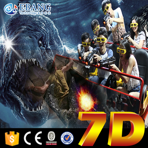 Amusement Park 7d cinema with jurassic park dinosaurs game for sale