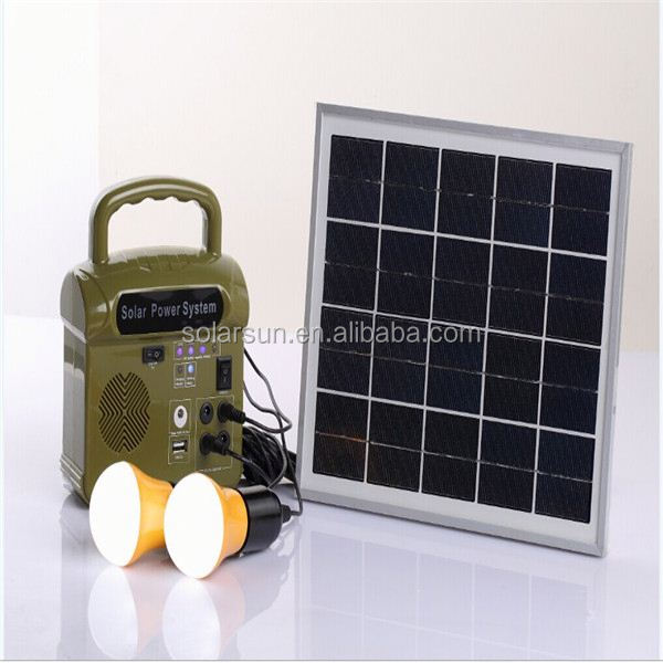 portable solar power for home solar system for home appliances 80w