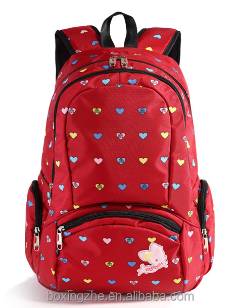 Korean popular cute student school bag children travel school bag