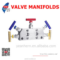 SS316 5 Way Valve Manifold With