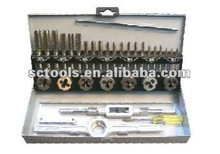 32PC METRIC HSS TAP & DIE SET
