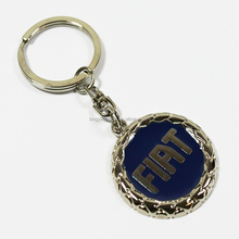 wholesale Cheap car logo keychain/custom metal keychain