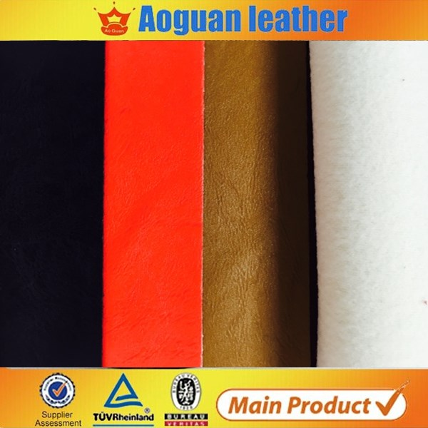 Alibaba Hot sale pvc faux leather roll for making sofa and car seat material with cheap price