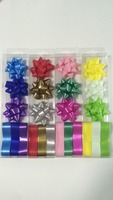 2016 Wholesale star ribbon bow party supplies/Birthday party star bow