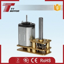 Low rpm micro dc gearbox single phase electric motor