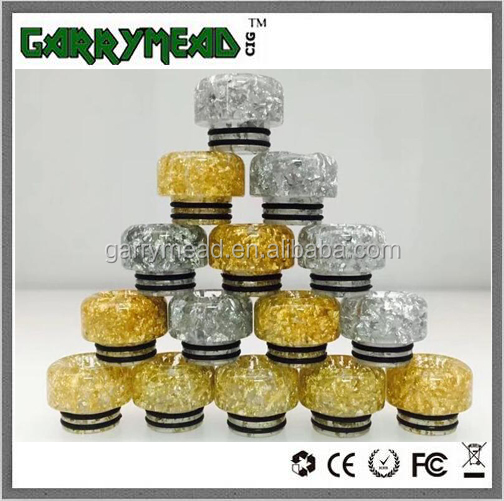 Garrymead drip tip hot selling 810 drip tip for TFV8 and TFV12 Kennedy Goon 528 Entheon rda Apocalypse with factory price