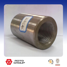 High quality thread steel screw rebar coupler for connecting rebar manufacturer