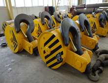 100T Double Hook Heavy Crane Hook