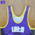 100% polyester wrestling singlets youth sizes